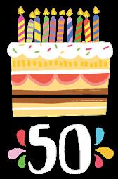 50bursdag